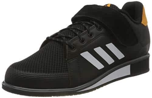 adidas Power III, Zapatillas Halterofilia Hombre, NEGBÁS/FTWBLA/Dorsol, 44 EU