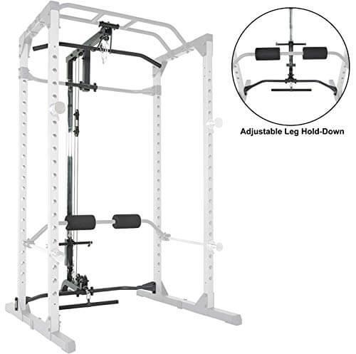 Fitness Reality Accesorio para Lat Pulldown 810XLT para Jaula de Potencia Super MAX (no Incluido, Juego de 1)