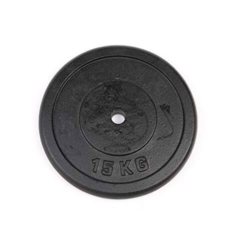 Pesas de Disco Discos de Pesas para Musculación Las placas con barra Cast Iron Piece Barra 25MM pequeño agujero de pulverización de arco pieza de elevación Equipo Contrapeso pieza equipo de la aptitud
