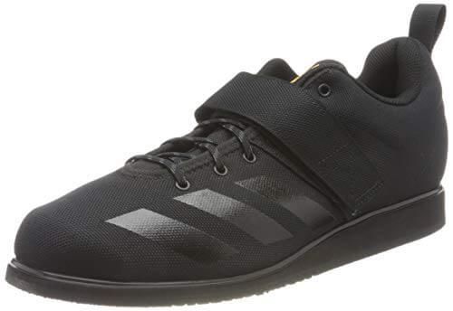 adidas Powerlift 4, Zapatillas Halterofilia Hombre, NEGBÁS/NEGBÁS/Dorsol, 45 1/3 EU