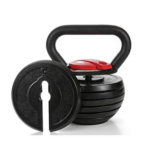 Kettlebells AGYH Fitness Pesas Rusas, 7 Pesas Ajustables, Equipo Portátil De Entrenamiento De Fuerza para Gimnasio En Casa, 2 Modelos (Size : 20lb/9kg)