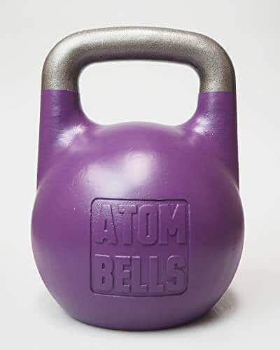 ATOM BELLS Pesa rusa de competición - Kettlebell Sport, Girevoy Sport, bootcamp, de 8-32kg (18 kg)