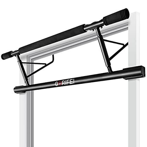 GORIFEI Doorway - Barra de dominadas para ejercicios de gimnasia en casa, no requiere instalación (carga de hasta 200 kg)