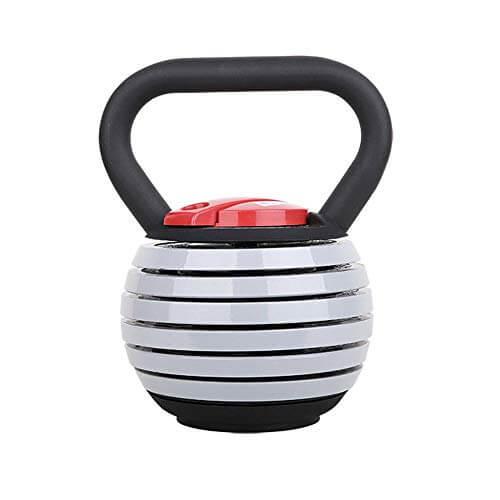 WYYH Kettlebell Fitness, 40 Libras Kettlebell Ajustable Hierro Fundido Fitness Kettleball, Peso Ajustable Robusto Equipo Entrenamiento Físico Fuerza, para Equipos Ejercicio Físico Yoga