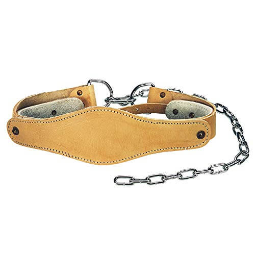 Tunturi Weight Accessories Cinturón Lastre Cuello, Unisex Adulto, Negro, Talla Única