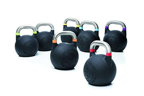 Escape Fitness USA Competition Pro - Pesa Rusa, 8 kg, Color Morado