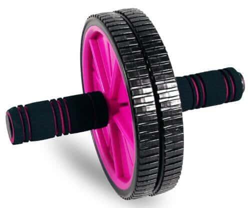 Tone Fitness Rueda para abdominales para entrenamiento de abdominales   Rodillo de abdominales   Equipo de ejercicio y accesorios