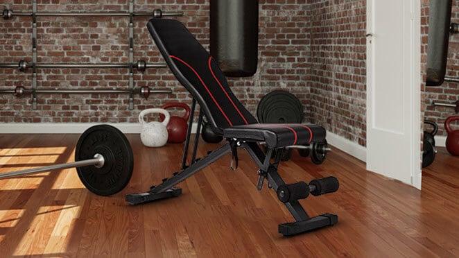 banco de pesas musculacion