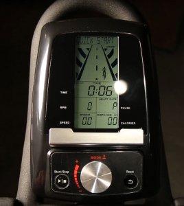 bici spinning pantalla