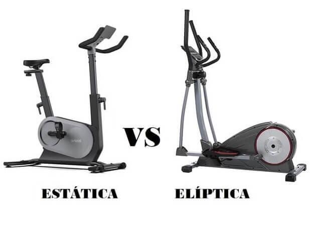 bicicleta estatica o bicicleta eliptica
